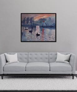 Impression Sunrise Monet oil painting reproduction