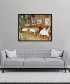 Interior of a Restaurant Van Gogh Oil Painting